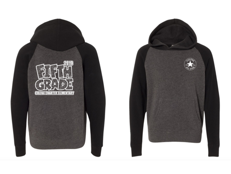 5th Grade:  Pullover Hoodie - XSMALL