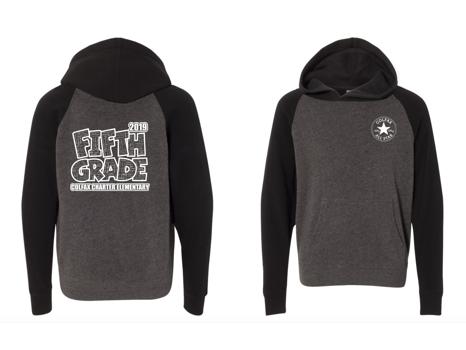 5th Grade:  Pullover Hoodie - Medium