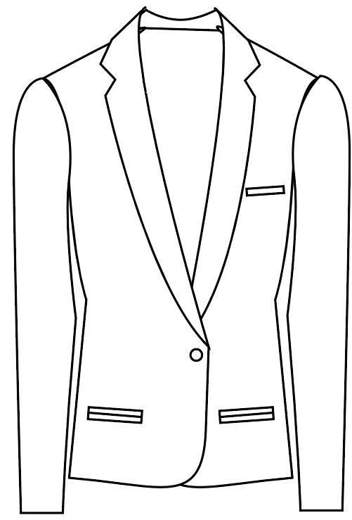 TailorMate   Enkeltradet med en knap