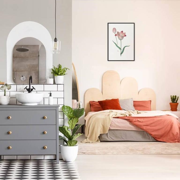 Slaapkamer wanddecoratie
