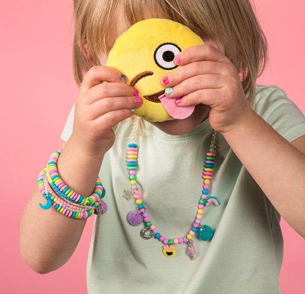 child with jewelry