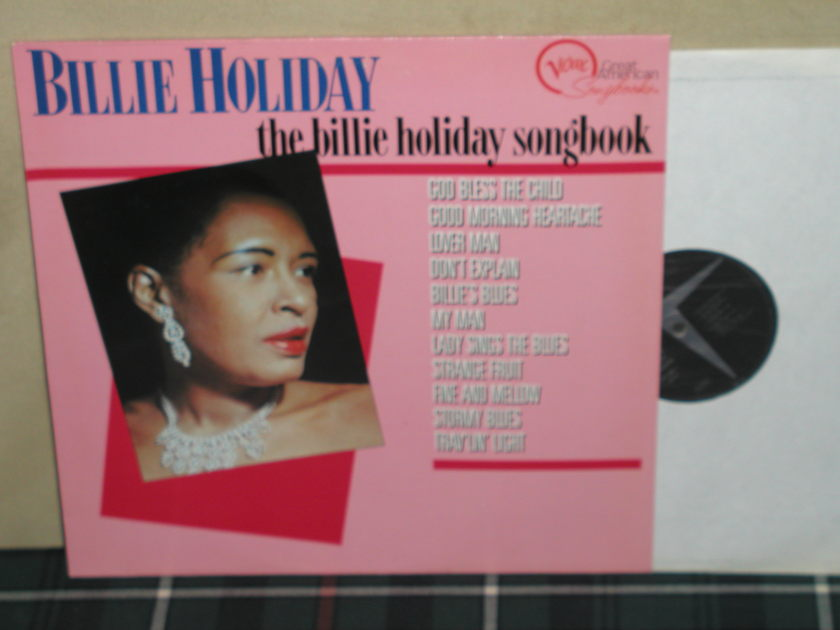 Billie Holiday - The Billie Holiday Songbook Verve GERMAN Import