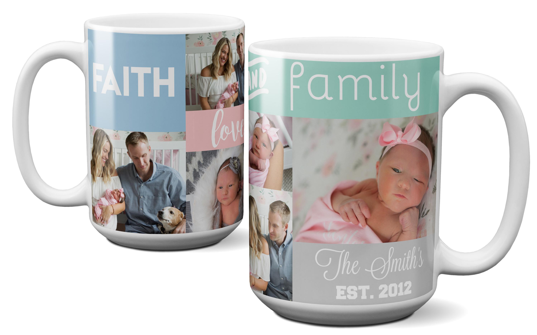 Family Photo Mug