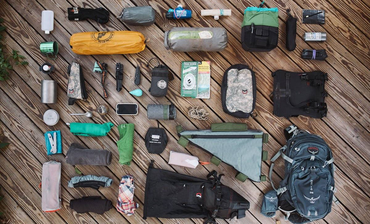Bag - Bike Touring Packing List