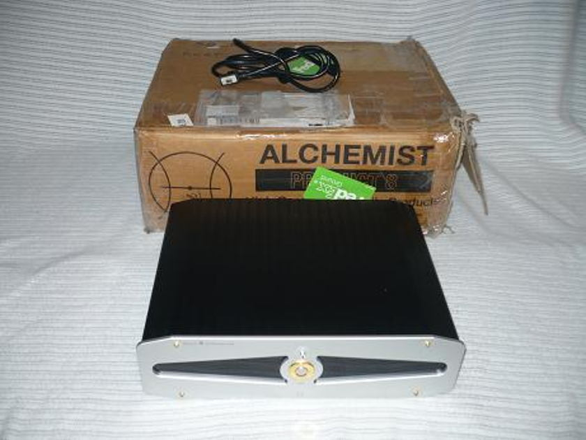 Alchemist Hifi Product 8 Stereo amplifier A/AB Great Britain Goodness!