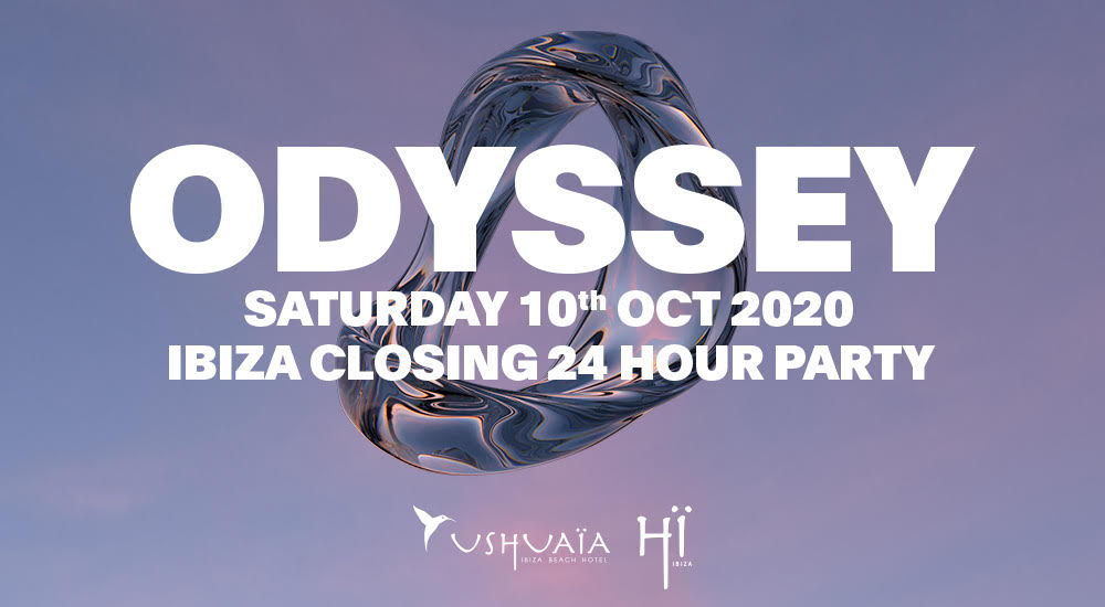 Closing party hi ibiza 2020, fiesta Odyssey, fiesta clausura