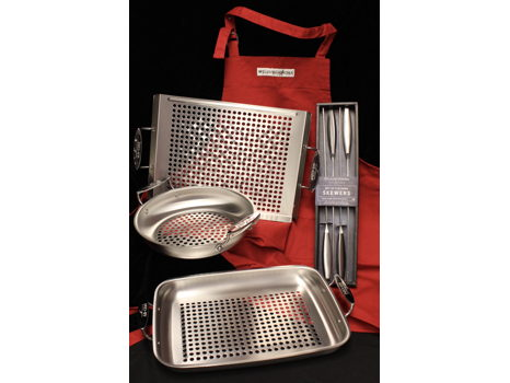 All-Clad Outdoor Stainless 3 Piece Set