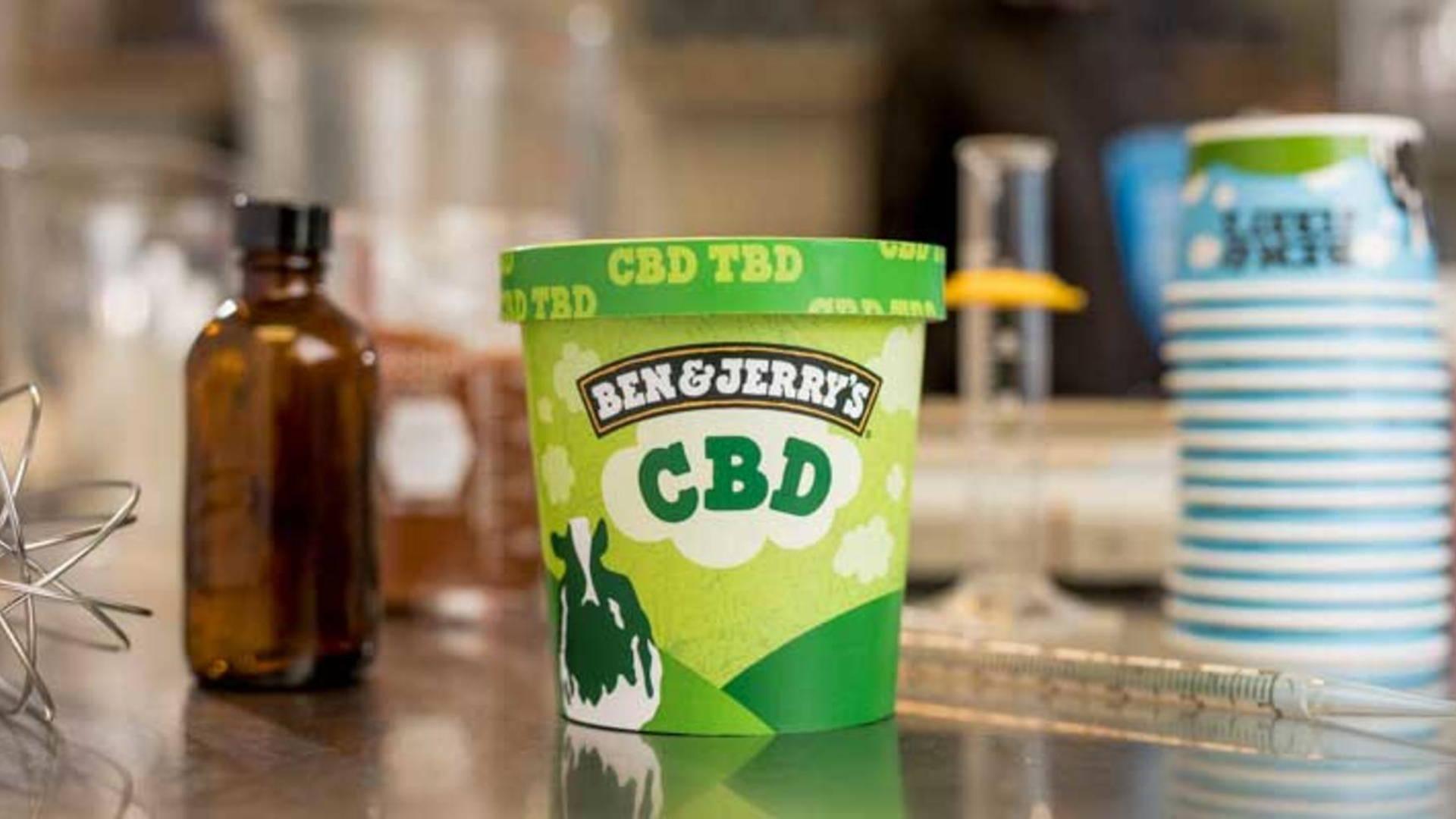 Ben & Jerry's To Release CBD Ice Cream Pending FDA Approval