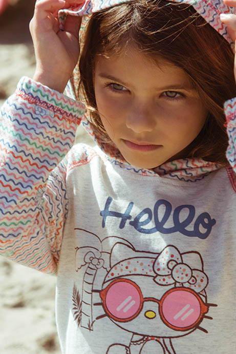 HELLO KITTY X ONEILL HELLO PARADISE HOODIE