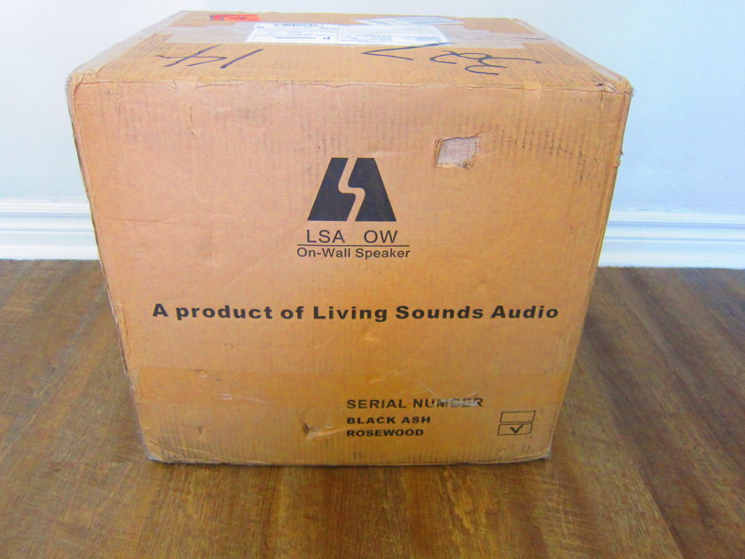LSA Group on wall surround speakers (retail new $1299.00)