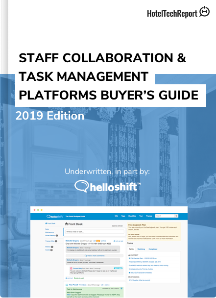 Staff Task Management Software Buyers Guide