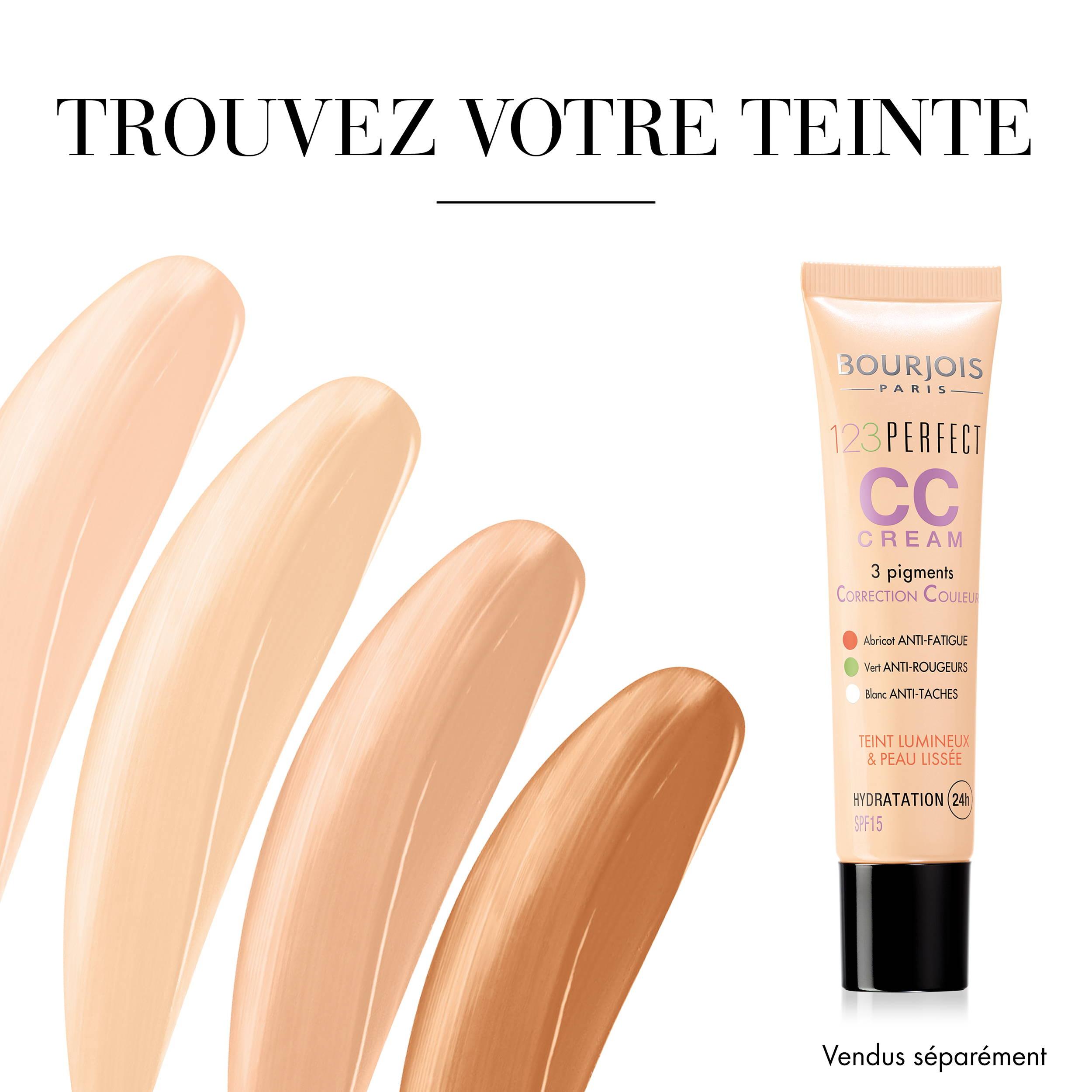 Teintes CC Crème Bourjois
