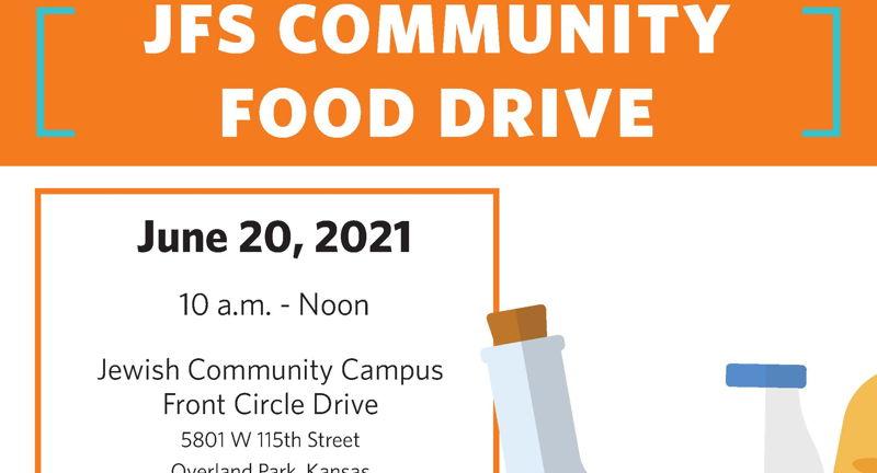 JFS Community Food Drive