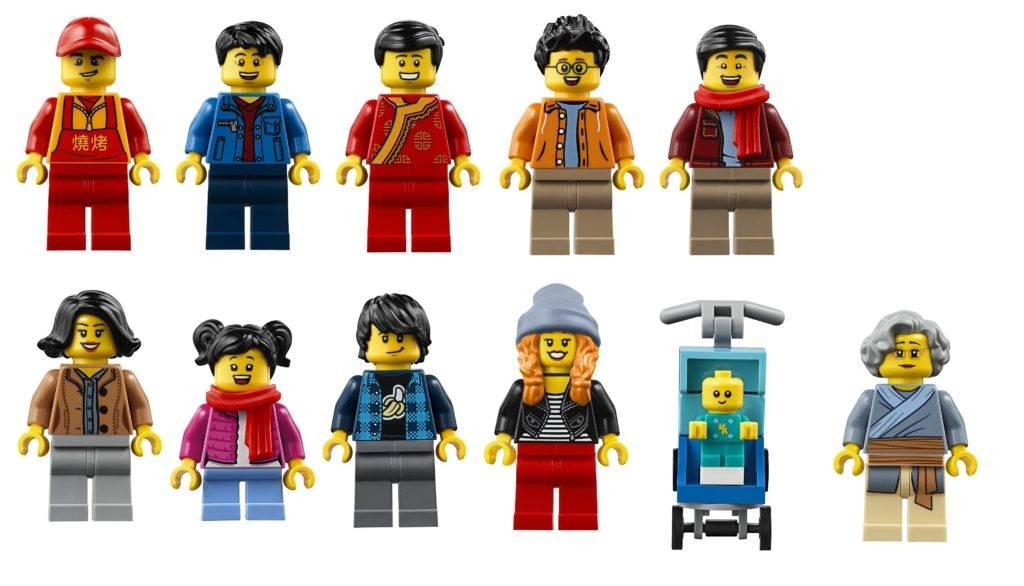 lego 80105 minifigures