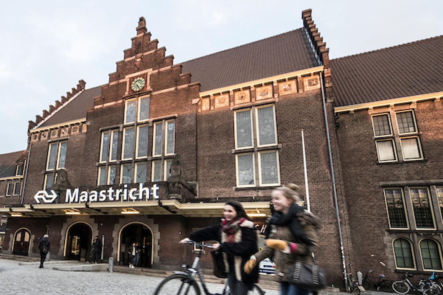 Maastricht is focusing on international rail travel