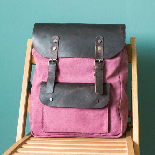 Розовый Городской рюкзак