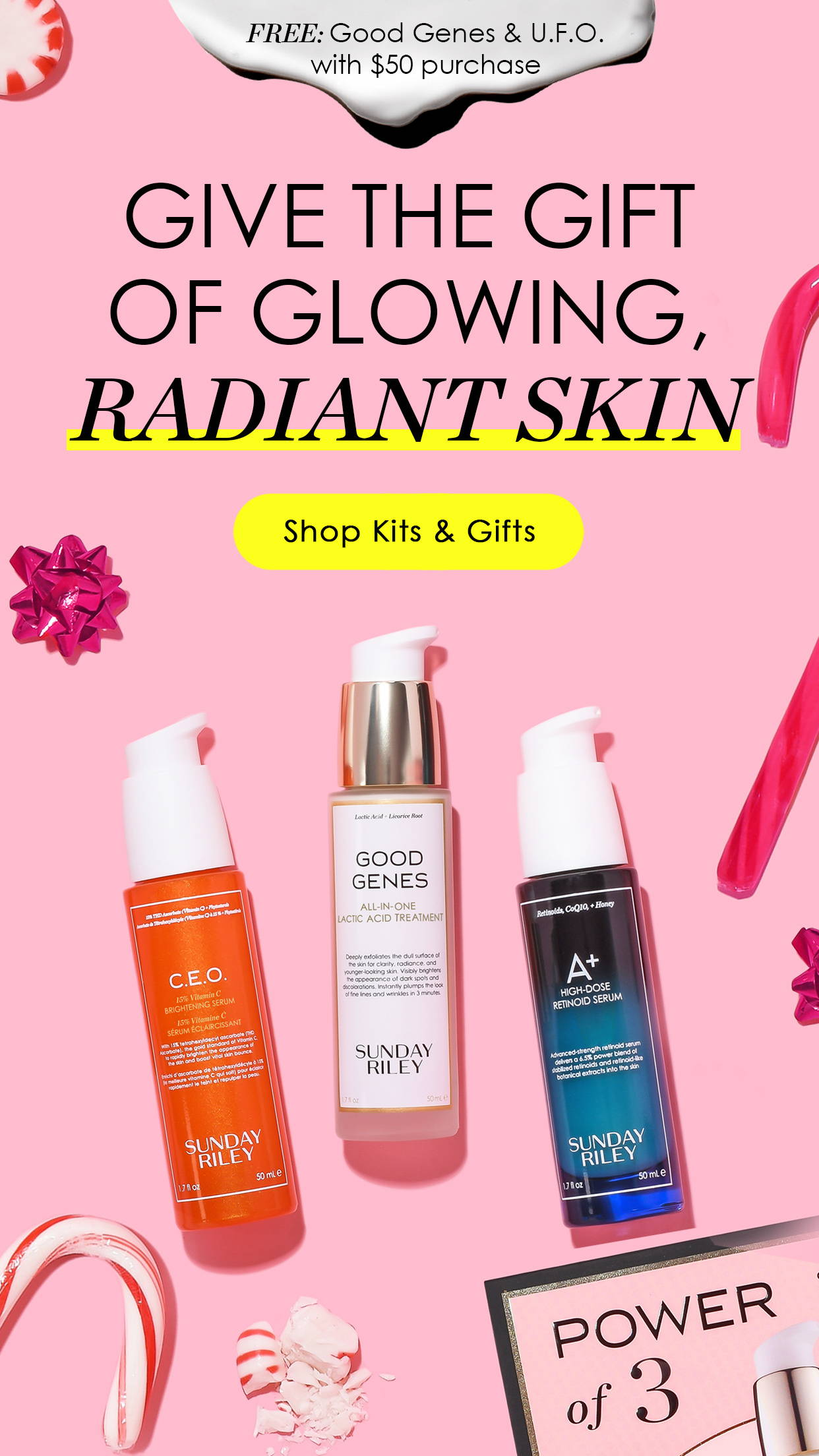 Give the Gift of Glowing, Radiant Skin: Shop Kits & Gifts