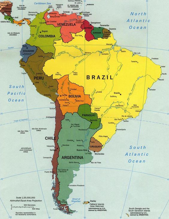 Mochilão de 1 ano na America do Sul