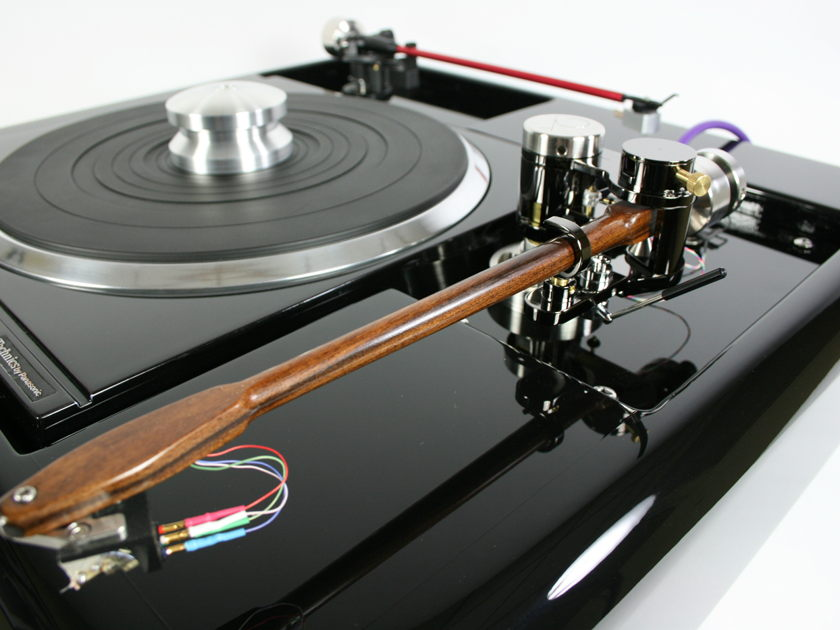 "Technics Sp10Mk2  Black Beauty Limited Edition 9""and 12"" tonearms"