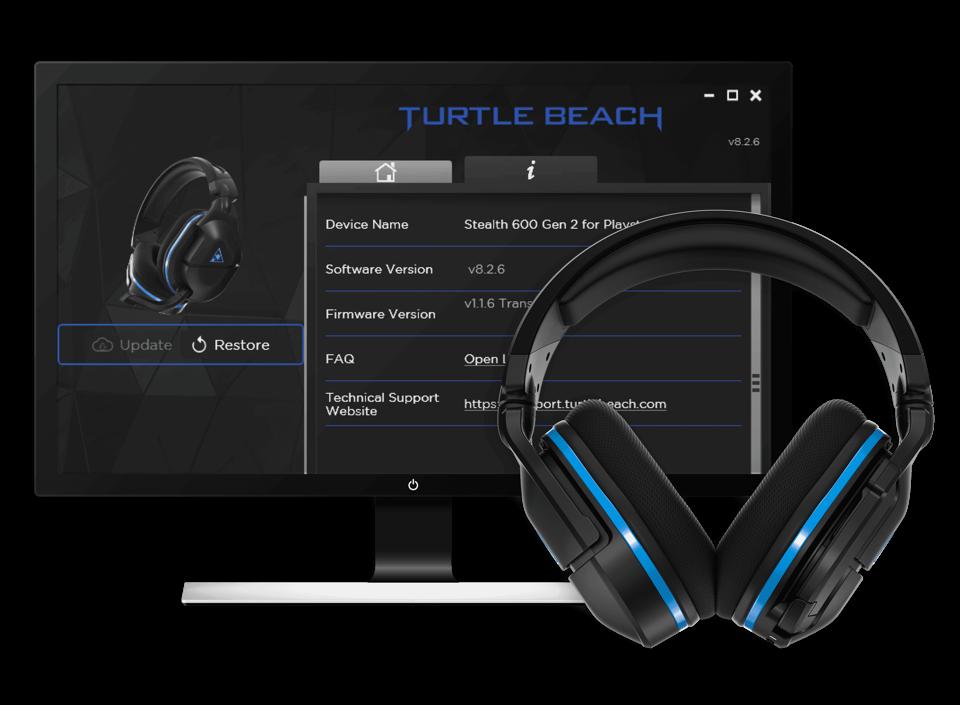 turtle beach audio hub adapter - desktop software