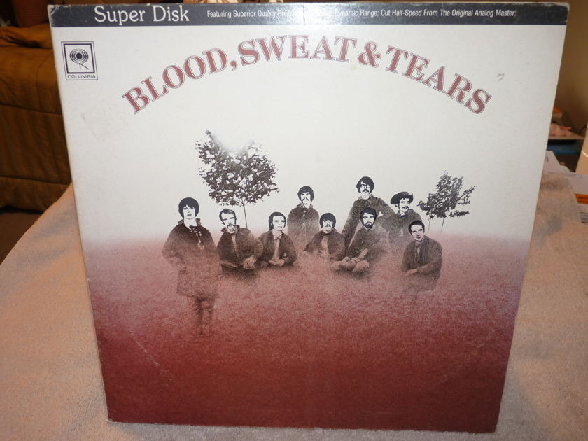 BLOOD, SWEAT & TEARS - BLOOD, SWEAT & TEARS DIRECT DISK LABS HALF-SPEED (LIKE MFSL)