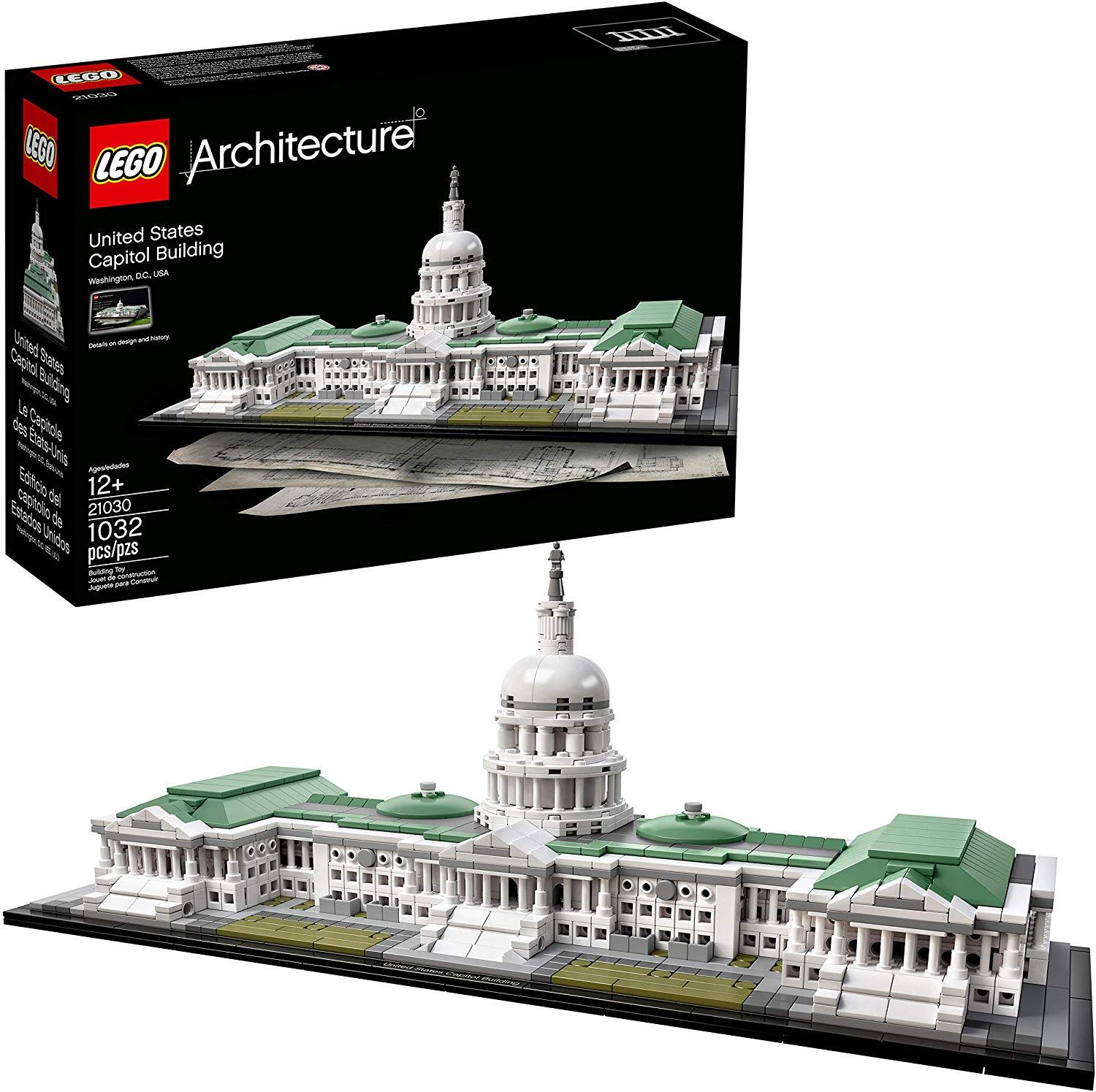 The Lego United States Capitol Building Kit