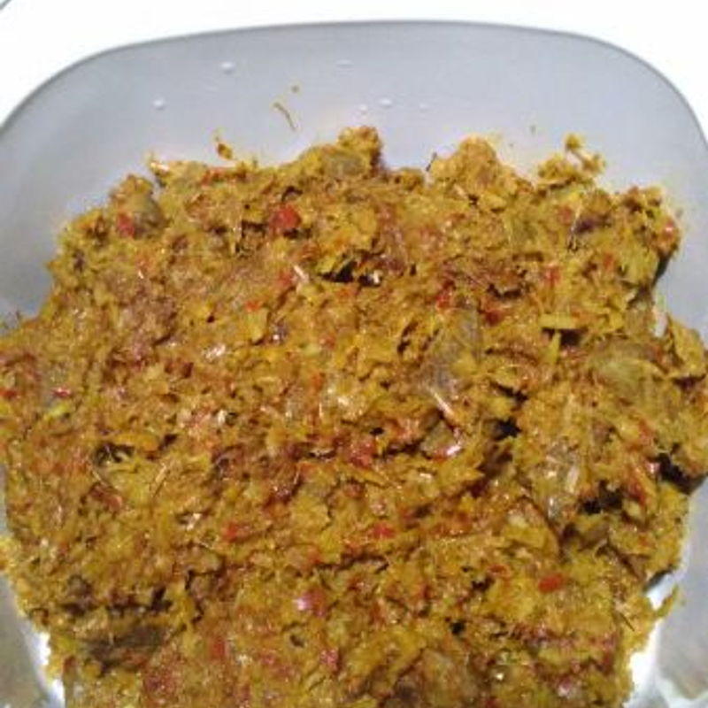 Chicken Rendang receipe with Mutton meat instead !!!