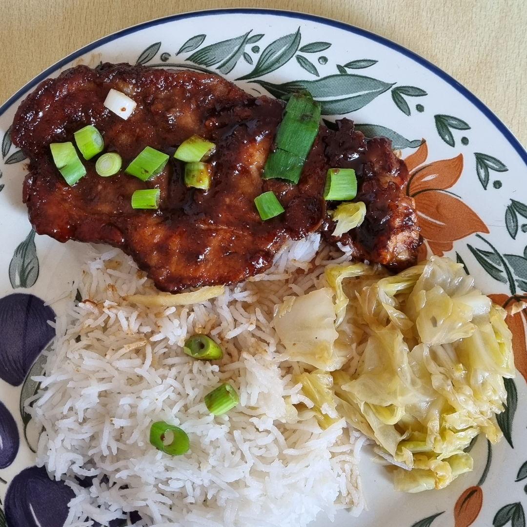 Singapore Coffee Pork Steak
