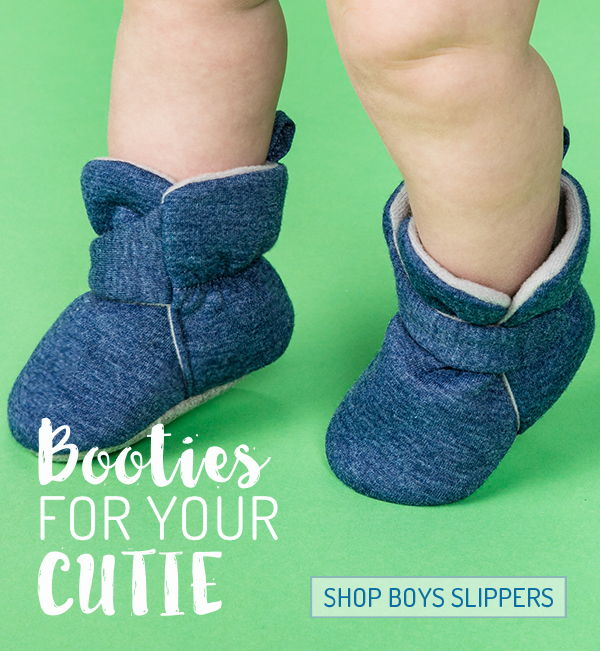 infant boy slippers product photo