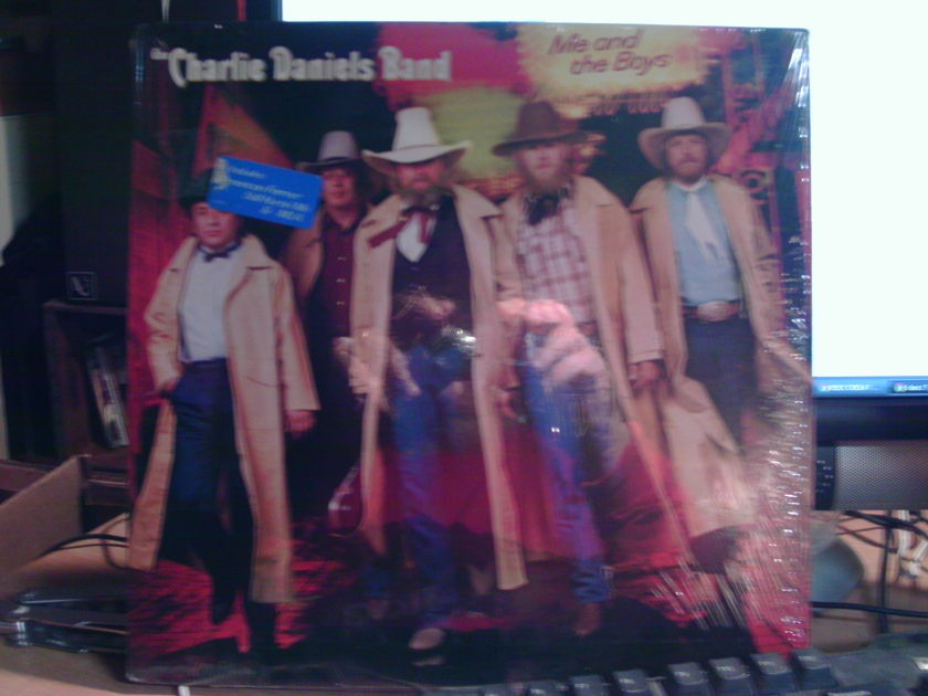 CHARLES DANIELS BAND - ME AND THE BOYS