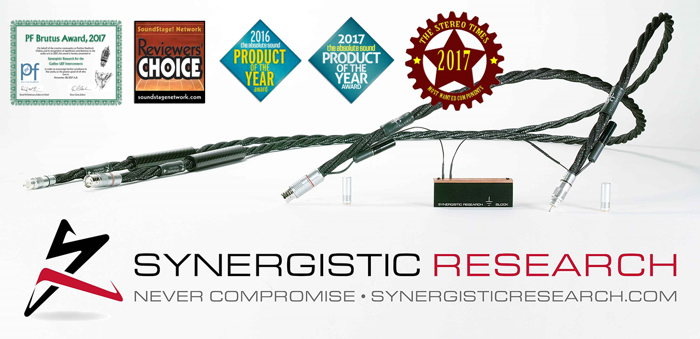 Synergistic Research Galileo UEF Interconnect Cables