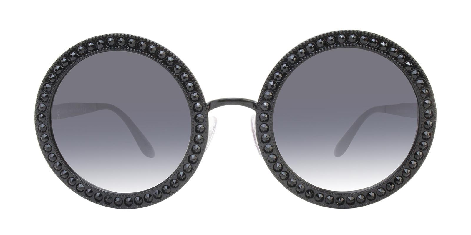 Oversized Round Glasses