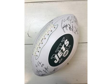 Autographed Jets Football
