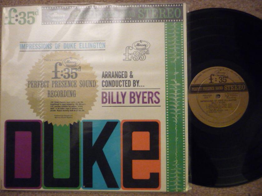 IMPRESSION OF DUKE ELLINGTON - PERFECT PRESENCE Mercruy LP