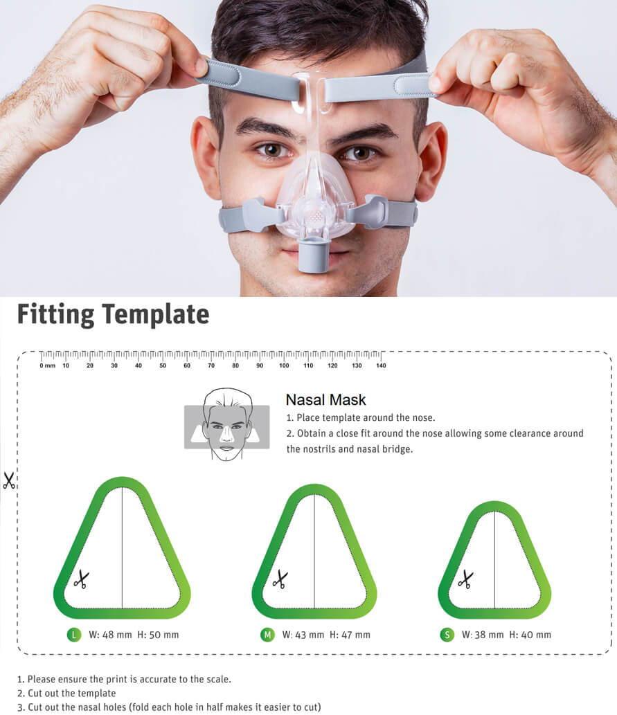 Masque de machine automatique CPAP / APAP