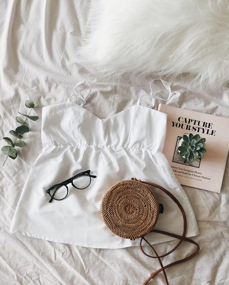 Пижамный топ для сна (белый)