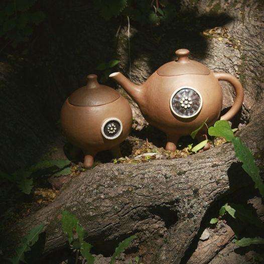 Чайный набор (Чайник+Сахарница)