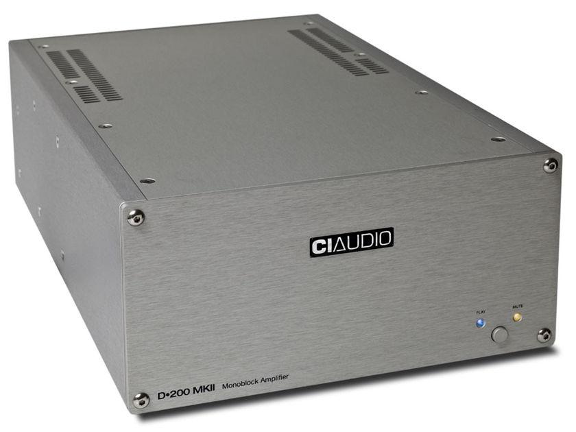 Channel Islands Audio D-200 MKII Monoblock Amplifiers