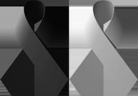 Black Gray Ribbons