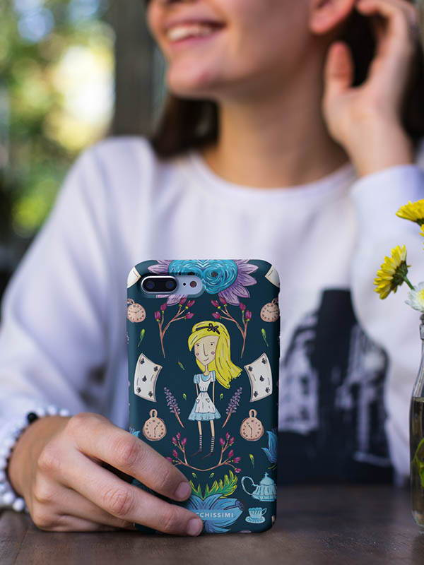 Zacchissimi Alice in Wonderland Phone Cover Mobile Cover