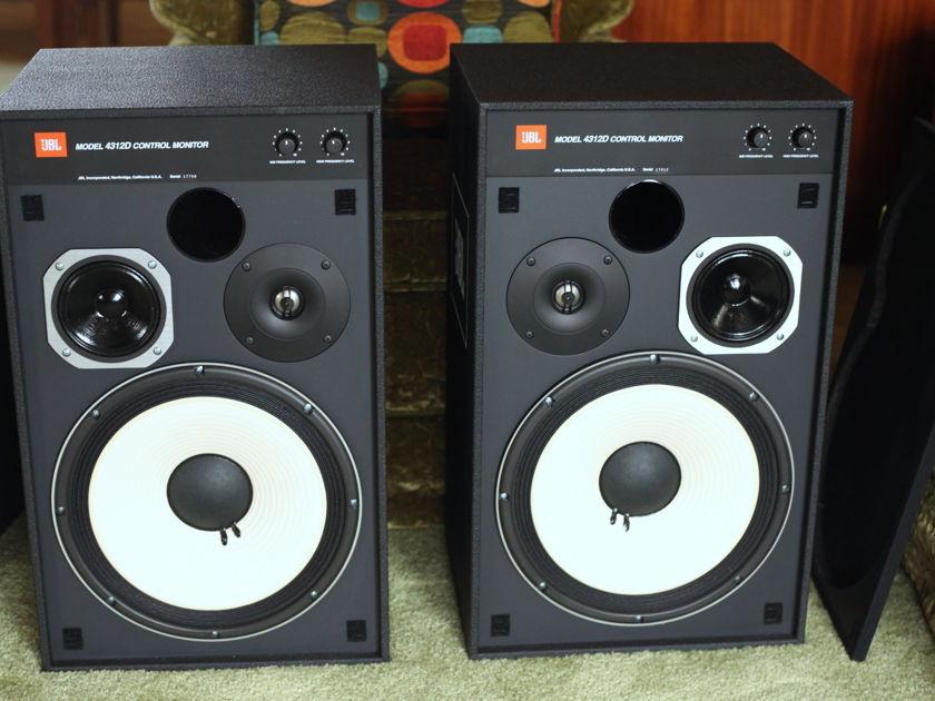 JBL 4312D 3-Way Studio Monitor - Pristine