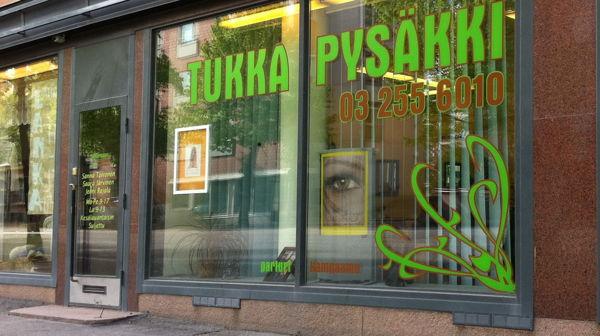 Parturi-Kampaamo Tukkapysäkki, Tampere