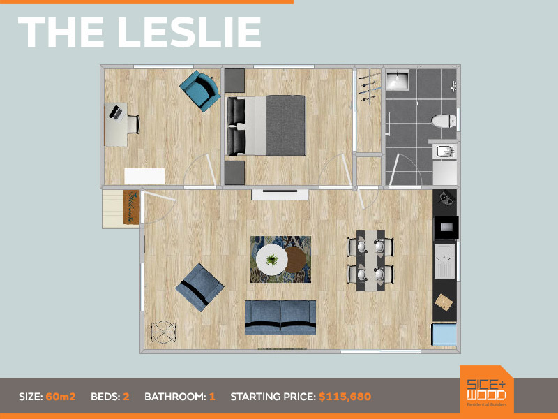 The Leslie Granny Flat by Sicewood