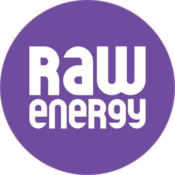 Logo - Raw Energy | Coolum