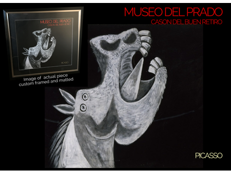 Picasso's  Head of Horse  Poster