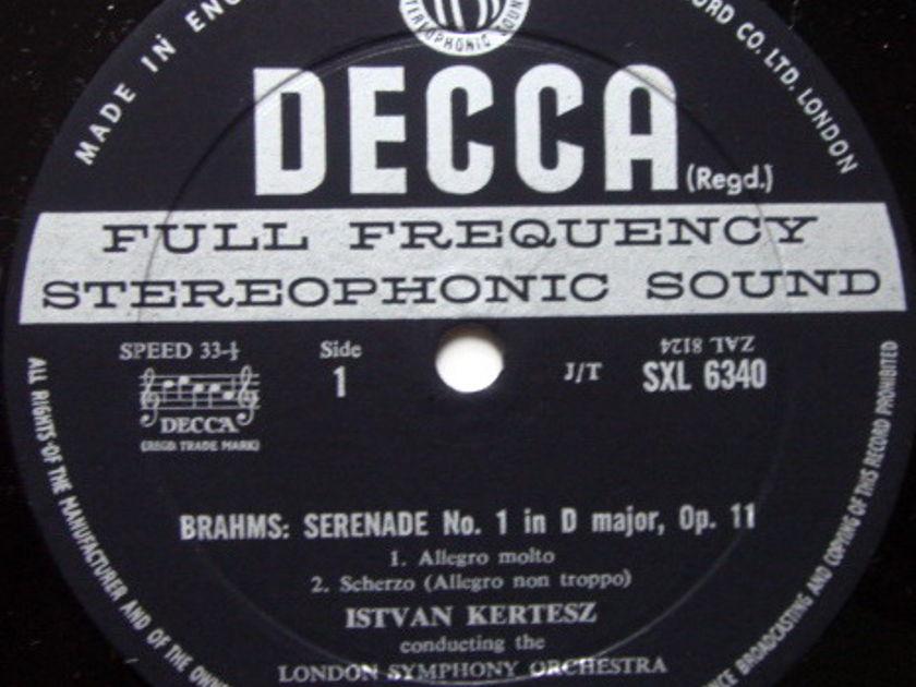 DECCA SXL-WB-ED2 / KERTESZ, - Brahms Serenade No.1, NM!