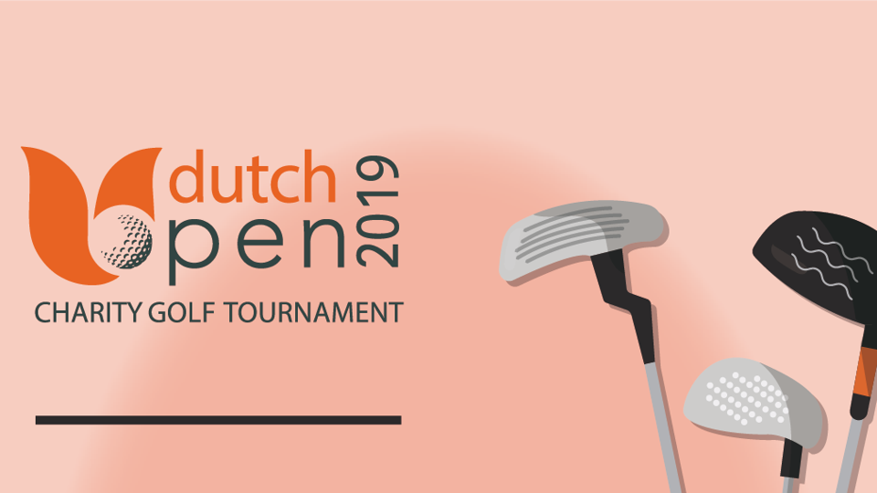 Dutch open charity golf tournament
