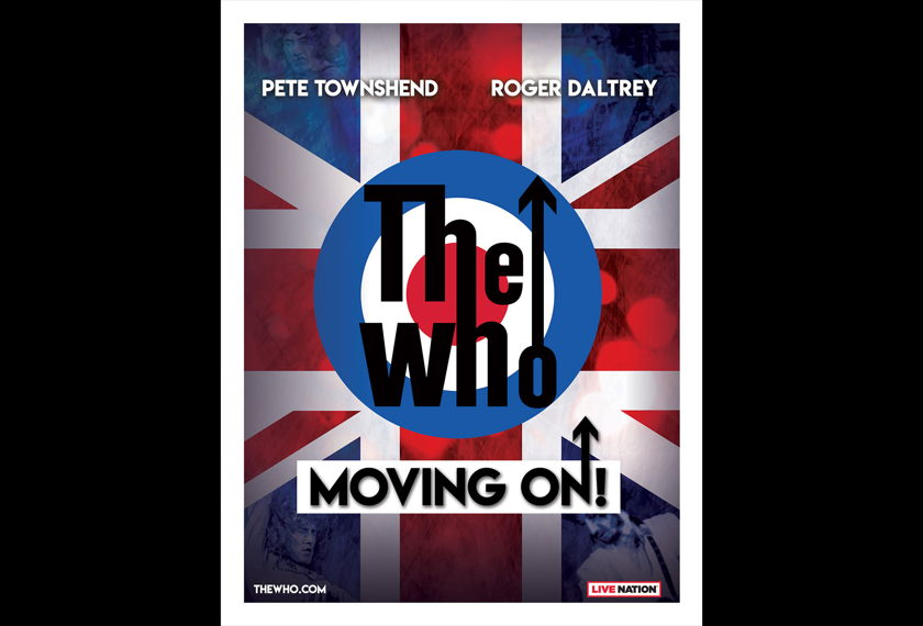 The Who: Moving On! artwork