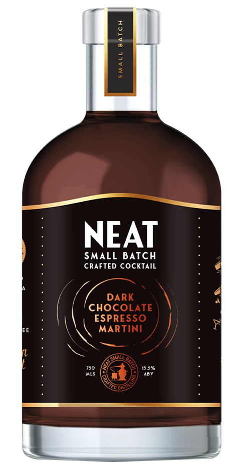 Neat Dark Chocolate Espresso Martini
