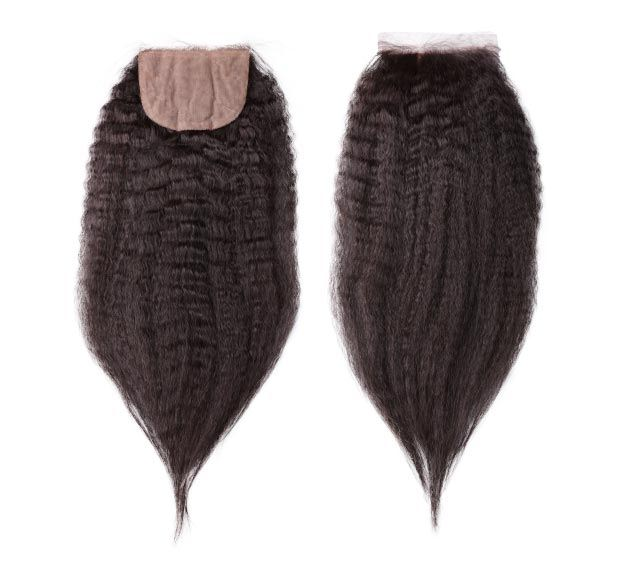 Kinky Straight Silk Closure Mayvenn